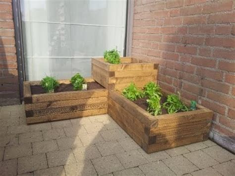 how to build planters for vegetables build a cheap and easy wooden planter box