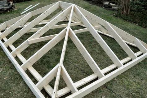 How To Make A Hip Roof by One Project Closer