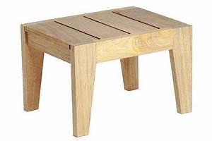 Petite Table En Bois : petite table basse en bois pour bain de soleil haut de gamme la galerie du teck ~ Teatrodelosmanantiales.com Idées de Décoration