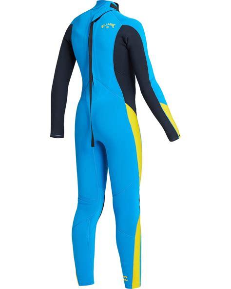 Boys' 4/3 Absolute Back Zip Wetsuit 194843006319   Billabong