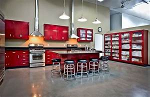 vintage metal kitchen cabinets kitchens designs ideas With best brand of paint for kitchen cabinets with life size stickers