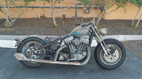 Harley Davidson Sportster Custom Bobber By Bobberpros