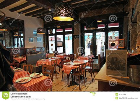 la cuisine restaurant lyon restaurant bouchon in lyon interior editorial stock image image 51741094