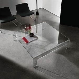 Table Basse Design Verre : table basse design carr e en verre frog sovet 4 ~ Teatrodelosmanantiales.com Idées de Décoration