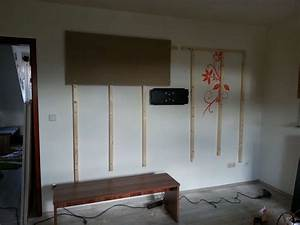 Tv Halterung Rigipswand : tv wand wohnwand gebaut ~ Michelbontemps.com Haus und Dekorationen