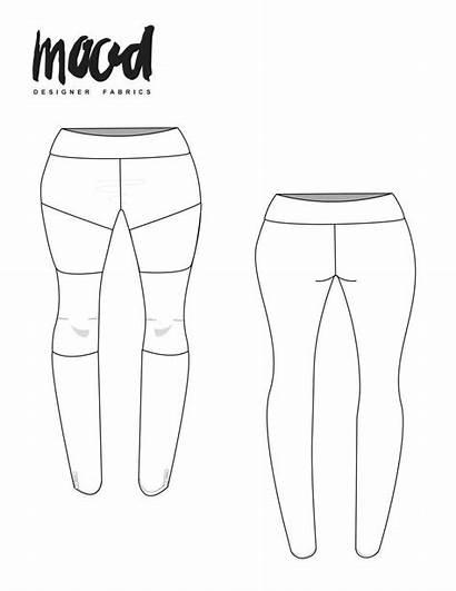 Sewing Leggings Pattern Redux Lotus Mood Patterns