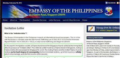 hahpiness philippine embassy invitation letter