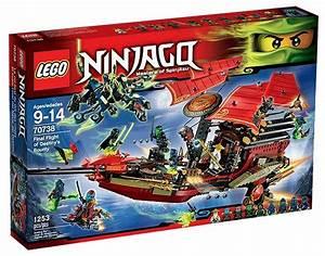 lego ninjago flight of destinys bounty set 70738