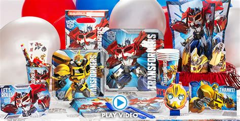 transformers party supplies transformers birthday