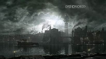 Dishonored Dunwall Ps3 Playstation Corvo Townhouse Wallpapers