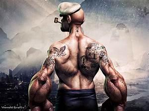 My New Popeye Movie Poster On Behance