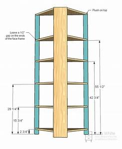 Ana White Build A Corner Cupboard Free And Easy DIY