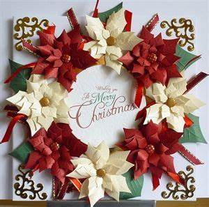 221 best Christmas Poinsettia cards images on Pinterest