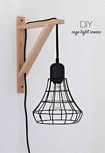 Make It: DIY Cage Light Sconce IKEA Hack » Curbly DIY