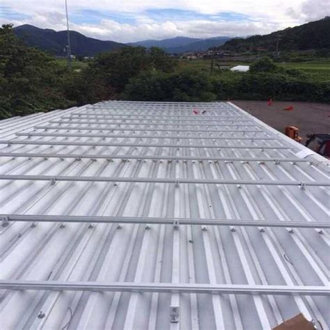 aluminum solar mounting systems  metal roofs trapezoidal solar panel cell structure racking