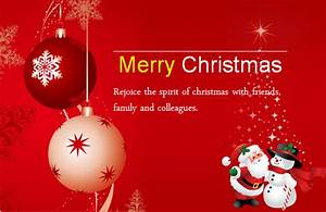 Ms Word Colorful Christmas Card Templates