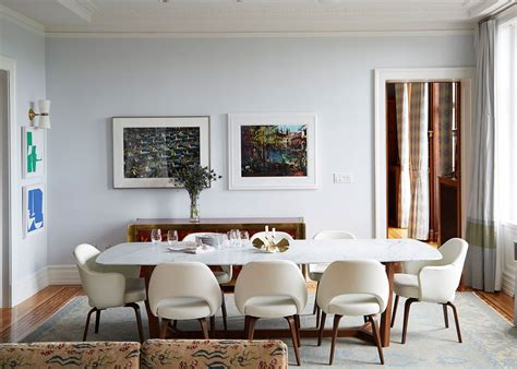 Cool Sophisticated New York Apartment by A Sophisticated New York City Family Home Dining Room