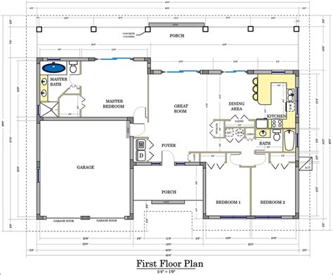 a floor plan floor plans and site plans design