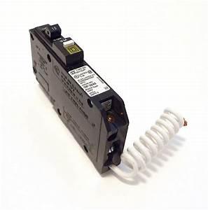 Square D Single Pole 15 Amp Qo Combination Arc Fault