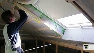 Fenster Abdichten Innen : trockenbau velux fenster verkleiden dachfl chenfenster roof windows lining hobein youtube ~ A.2002-acura-tl-radio.info Haus und Dekorationen