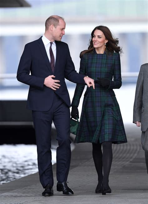 prince william kate middleton visit dundee january popsugar