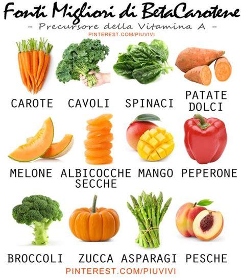 elastina e collagene quali alimenti mangiare gli alimenti contengono pi 249 beta carotene