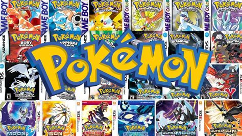 All Pokemon Games Ever Made New 2018 Youtube