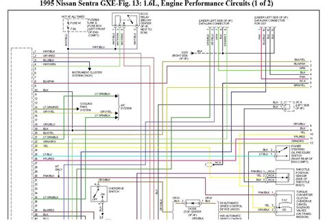 Wiring Diagram For Nissan Sentra Gxe Problem