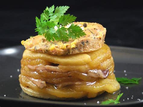 canap au foie gras tatin de magret de canard au foie gras recette de tatin