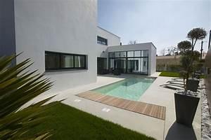 Maison Moderne Toit Plat : plan maison contemporaine toit plat recherche google ~ Nature-et-papiers.com Idées de Décoration