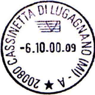 ufficio postale paderno dugnano il timbro dell ufficio postale 232 equivalente ad un a