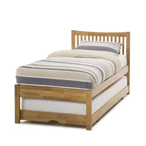 Mya Hevea Single Bed  Hideaway Guest Bed Hardwood