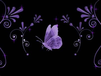Glitter Graphics Purple Butterfly Backgrounds Nature Background