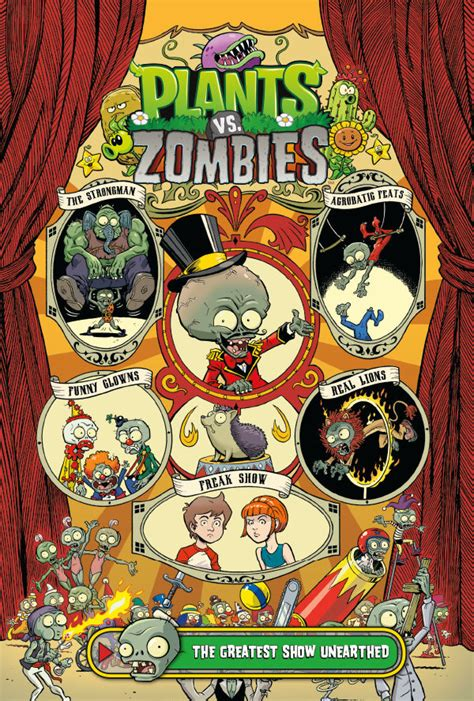 plants  zombies volume   greatest show unearthed