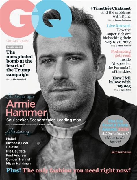 Armie Hammer opens up on mental health following divorce ...