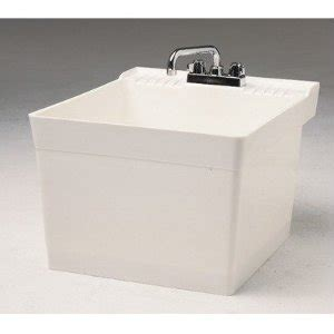 Fiat Sink by Fiat L 1 Wall Hung Service Sink White Faucetdepot