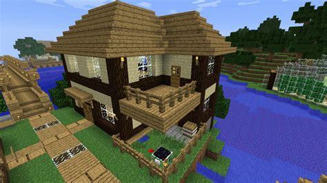 Bauideen Aus Holz by ᐅ Haus Aus Holz Und Sandstein In Minecraft Bauen
