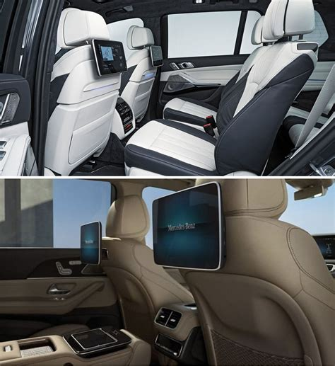 It's not bad looking, it just sort of looks the bmw x7 is far newer than the gls, so it's not exactly fair to say that its tech is better or that its yea even the new gls wont beat the x7 imo, x5 and x7 have the best car interiors for me. 2020 Mercedes GLS leaked (comparison vs X7)