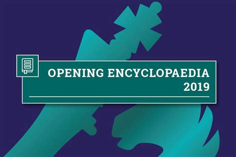 Opening Encyclopaedia 2019 Is Here!