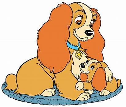 Disney Mother Lady Clip Clipart Tramp Puppy