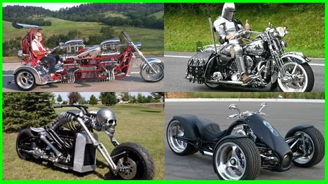 Most Strange And Crazy Motorcycles.