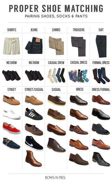 guide to matching pants socks and shoes classic fashion