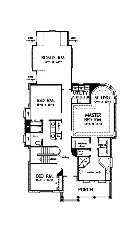 Country Style House Plan - 3 Beds 2.5 Baths 3332 Sq/Ft