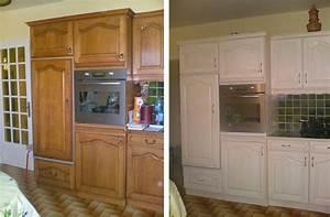 Relooker Meuble Cuisine : relooker meuble cuisine sans peindre comment repeindre cuisine rustique delphine ertzscheid ~ Mglfilm.com Idées de Décoration