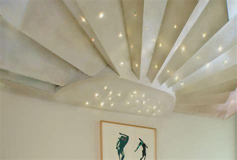 soffitto luminoso soffitto luminoso in cartongesso con fibra ottica