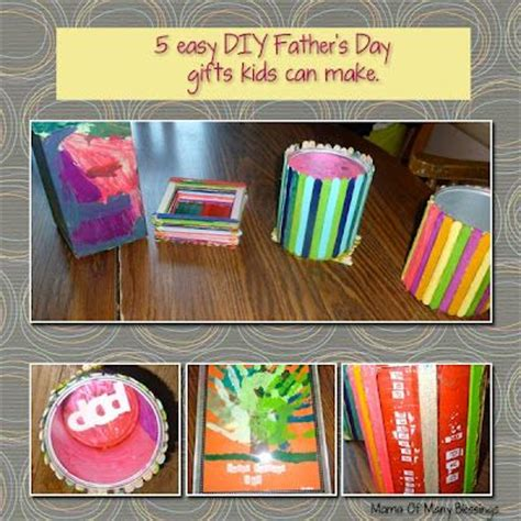 easy diy fathers day gifts kids    mama