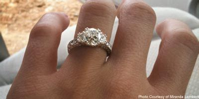 miranda lambert s engagement ring can t find 1 thing i