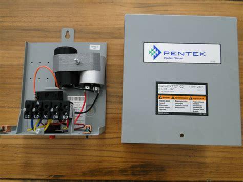 hp pentek goulds franklin water  pump control box