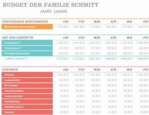 Budget Rechnung : excel ~ Themetempest.com Abrechnung