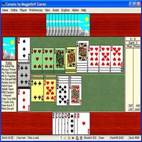t 233 l 233 charger canasta by meggiesoft pour windows shareware